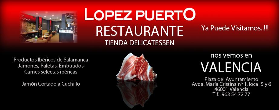 Restaurante López Puerto en Valencia