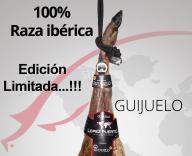 Jamón de bellota 100% Ibérico D.O. Guijuelo