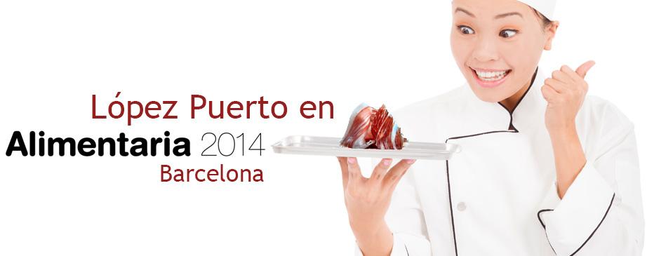 López Puerto en Alimentaria 2014 Barcelona